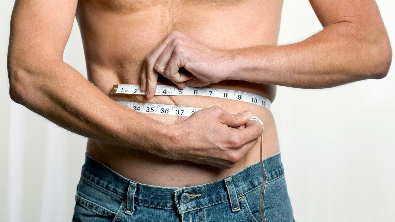 Похудение у мужчин
