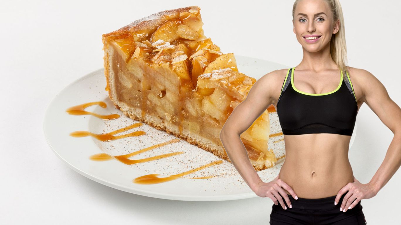 Фитнес шарлотка