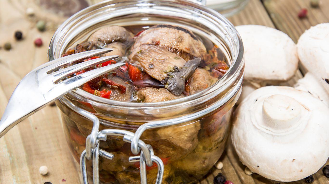 Маринованные грибы без стерилизации