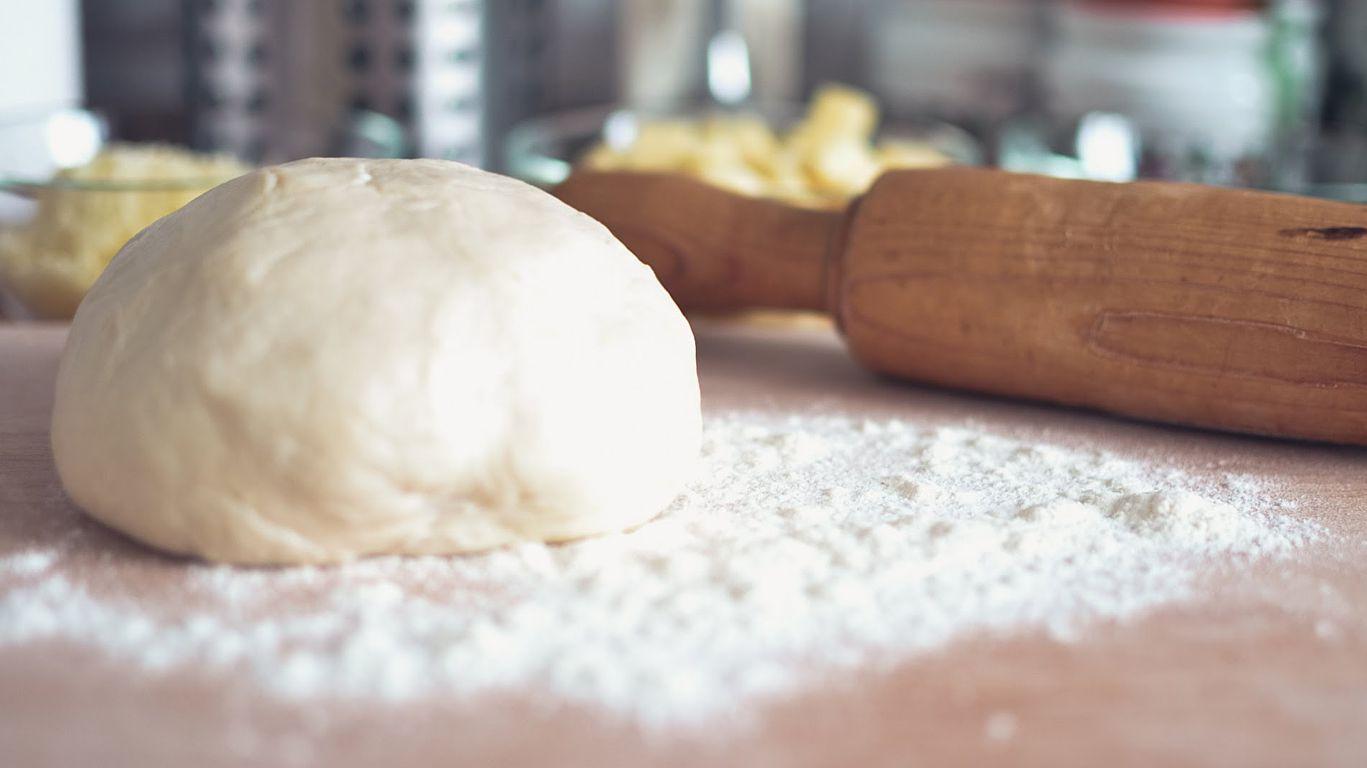 Тесто без дрожей