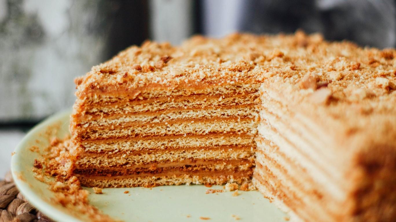 Торт медовик без мёда