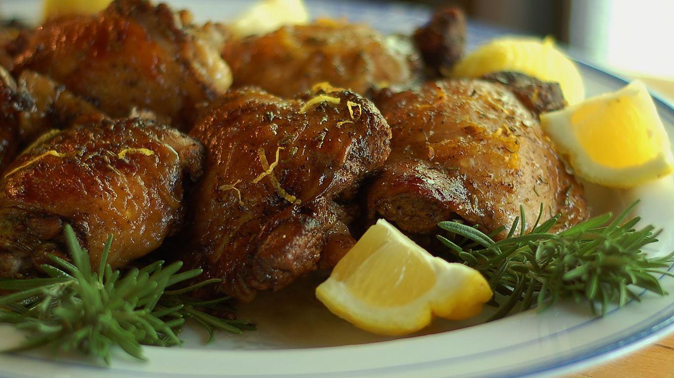 Курица с лемоном