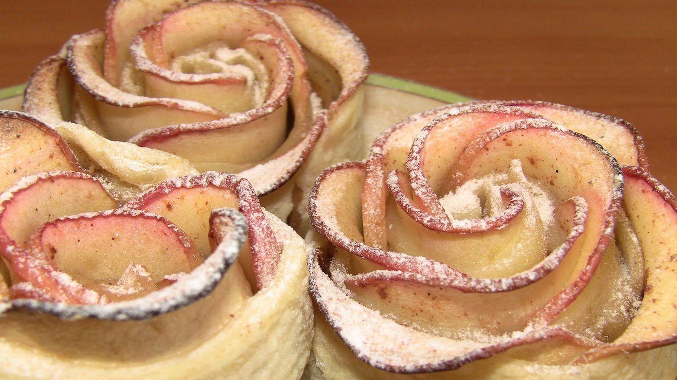 пирожное с яблоками