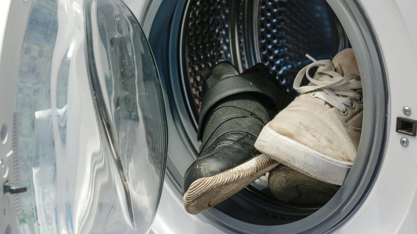 Кроссовки в стиральной машине